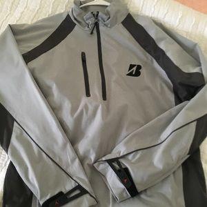 Bridgestone Performance Golf 1/4 zip Jacket - M